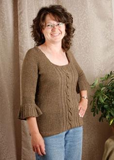 Knitting Gallery - Opulent Raglan Debbie