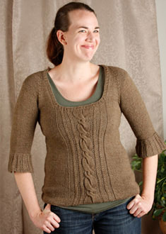 Knitting Gallery - Opulent Raglan Erin