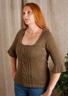 Knitting Gallery - Opulent Raglan Kat