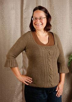Knitting Gallery - Opulent Raglan Sandi