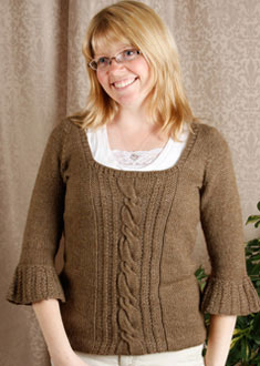 Knitting Gallery - Opulent Raglan Toni