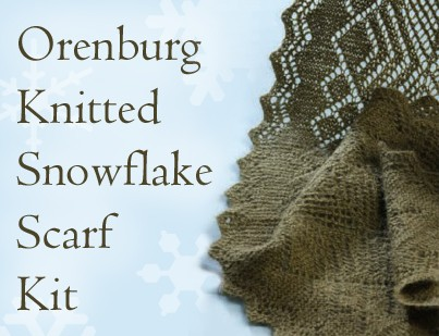 orenburg shawl kit