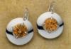 round ciitrine earrings Sam Patania