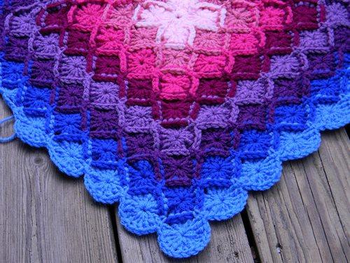Bavarian Crochet Blanket Interweave