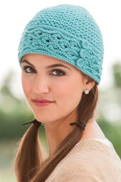 This is a great crochet beanie.