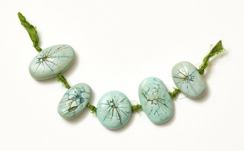 polymer clay faux gem beads