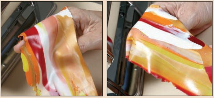 Make Faux Gemstones Create Marbled Clay Cabochons And