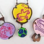 Polymer Clay and Metalsmithing: Make Bright, Fun Tab-Set Pendants