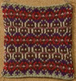 Learn about this knitting stitch by Amy Christoffers called the Poppies stitch that follows all the rules of traditional colorwork in this free eBook on nine amazing knitting stitches.