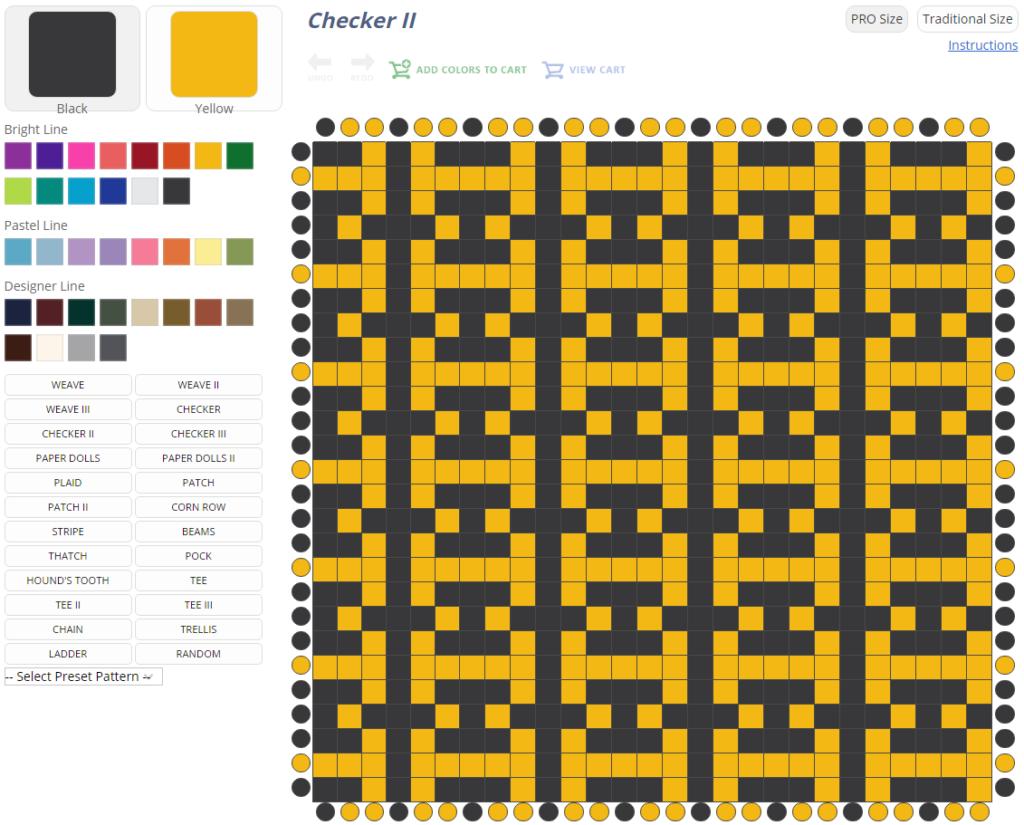 Must Try Potholder Pattern Wizard From Harrisville Designs Interweave