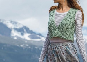 Learn how to crochet this reversible crocheted vest in our FREE eBook on 5 crochet vest patterns.