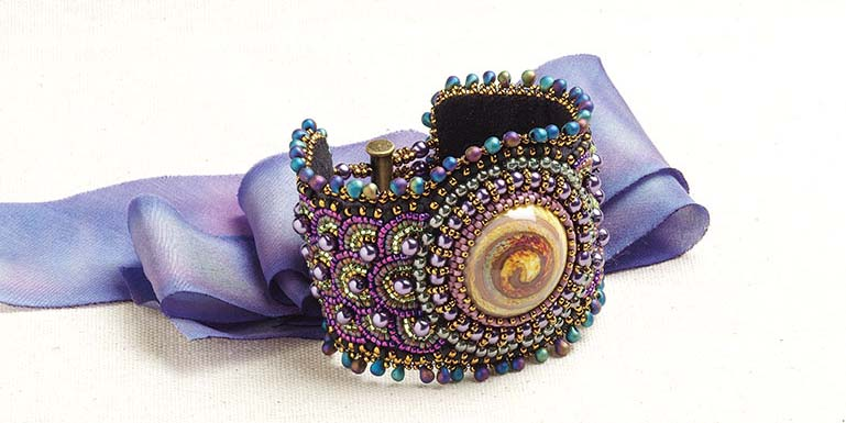 Bead Embroidery with Sherry Serafini, #throwbackthursday