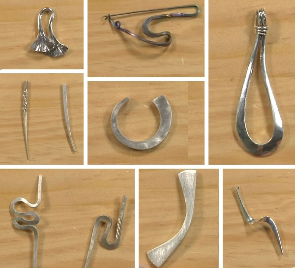 making twisted and tapered metal jewelry with Richard Sweetman