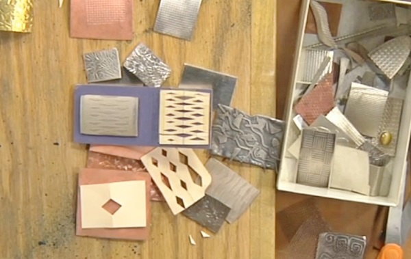 roller printing: how to use a rolling mill to create texture on metal