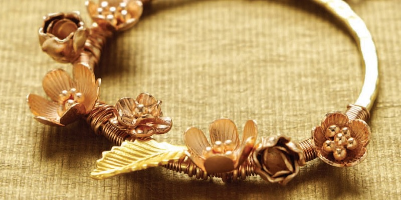 Rose Gold Jewelry Project: Everything's Coming Up Rosy Posies in Mixed Metals