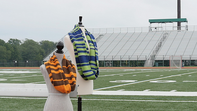 The Scoreboard Knitalong Knit Cowl Kit: Enter to win one of your own!