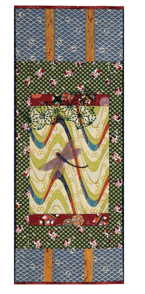 Beaded scroll by Nancy Eha