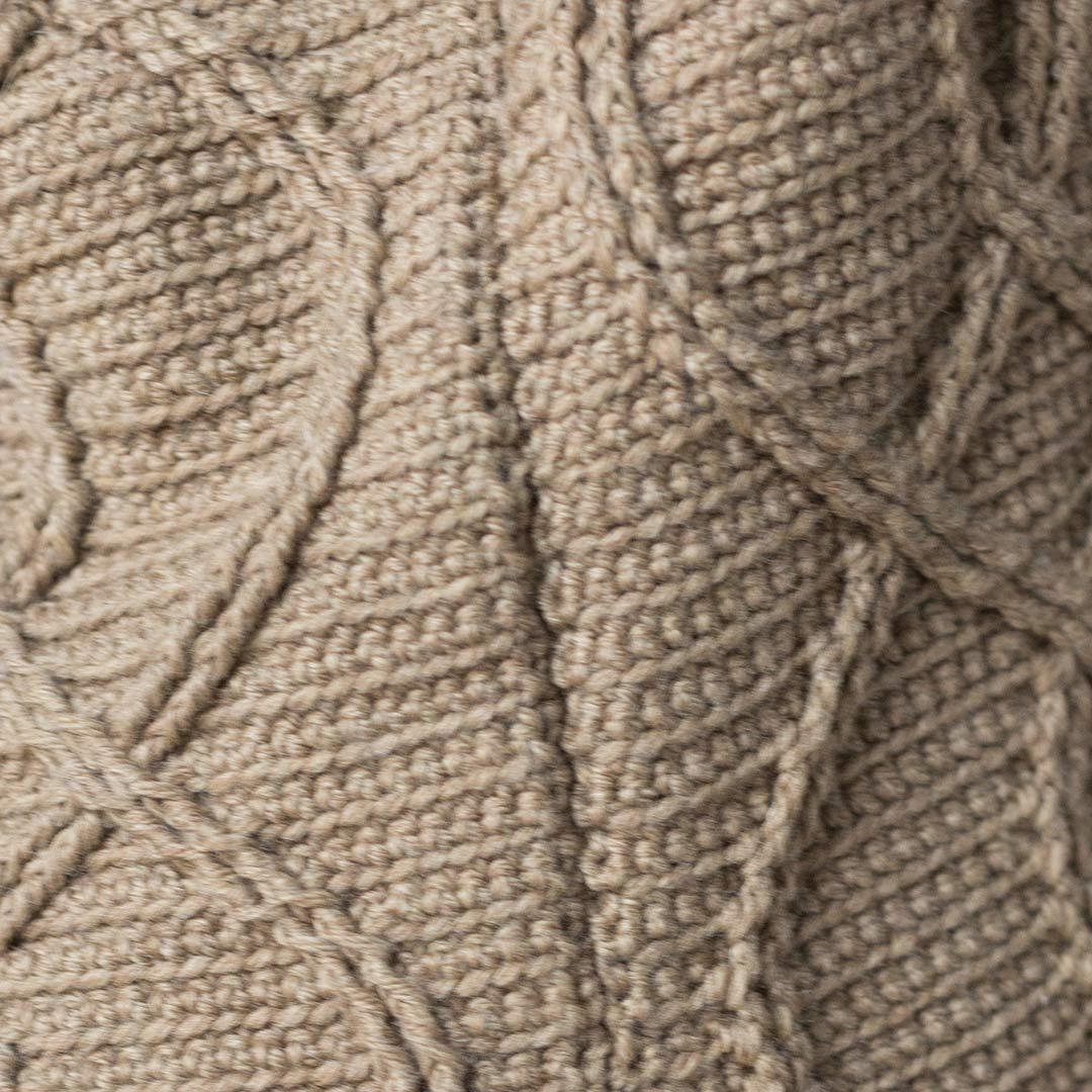 crochet seam closeup