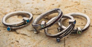 Learn how to make a DIY ring stack in this free ring making guide.