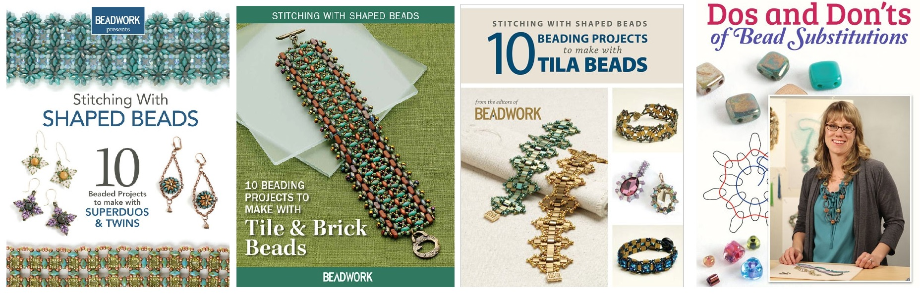 shaped bead products from Interweave