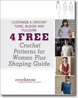 You'll love these free crochet tops for women patterns and a FREE shaping guide for your projects.