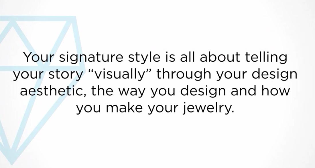 create a signature style