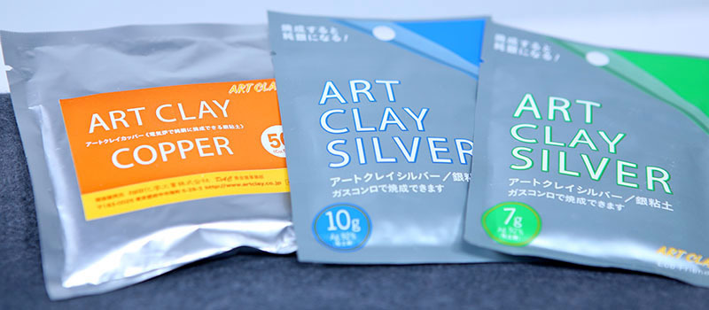 Jackie uses Art Clay Silver and Art Clay Copper in this workshop.