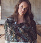 POW: Silverlake Filet Shawl