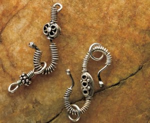Make jewelry with silver findings in this FREE eBook that shows you how to make silver jewelry and other silversmithing techniques.