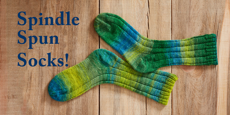 How to Knit Handspun Socks in Any Language