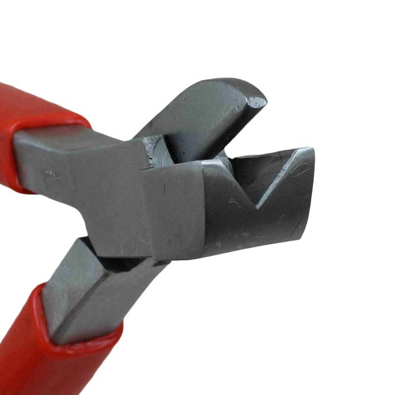 Bow closing pliers to cut solder