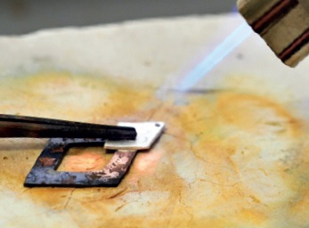 how to solder metal clay jewelry
