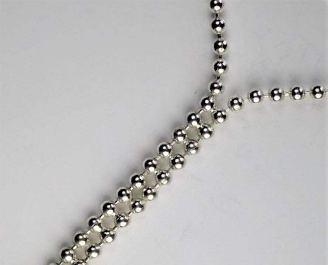 2.2mm ball chain joined with easy paste solder