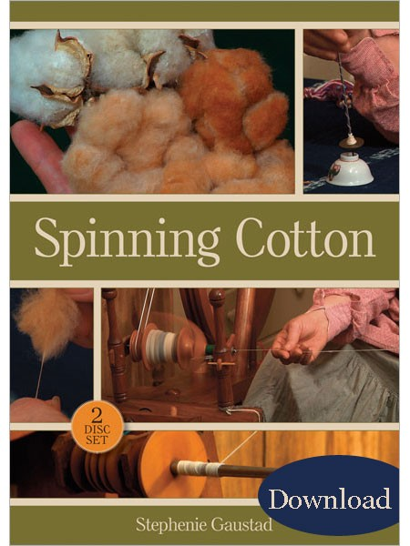 spinning cotton video