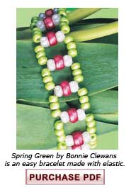 Learn the magic of working with elastic and beaded bracelets in this beading blog and easy bracelet project.
