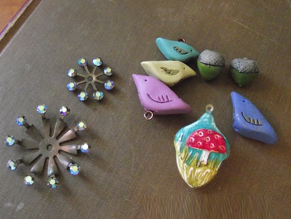 Echo Artworks sprockets and pollymer clay from Humblebeads
