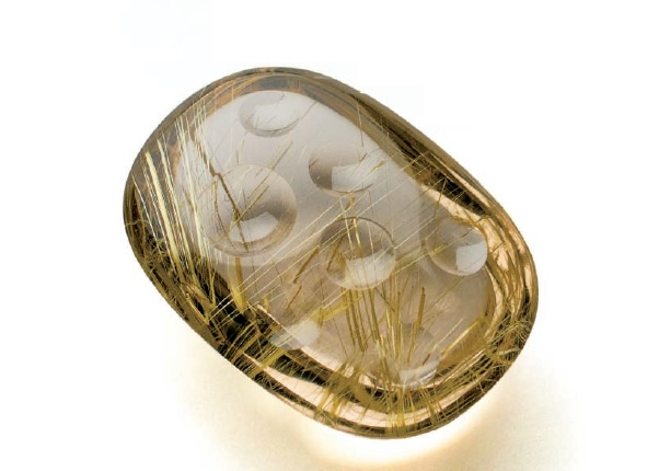 carving quartz with a flex shaft by Roger Halas