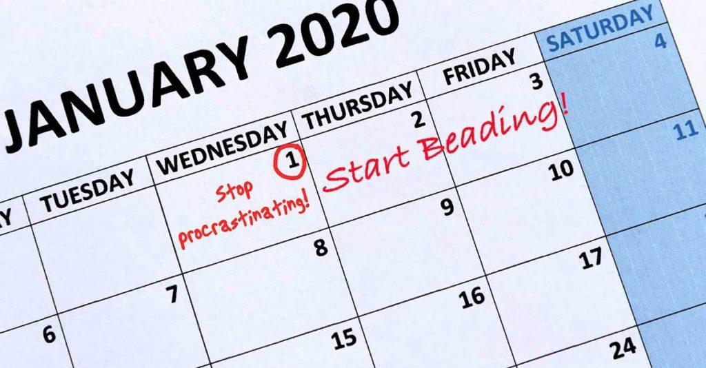 beading goals 2020