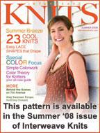 Interweave Knits Summer 2008