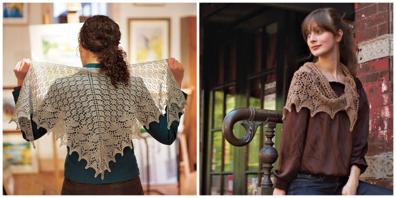 knitted shawls