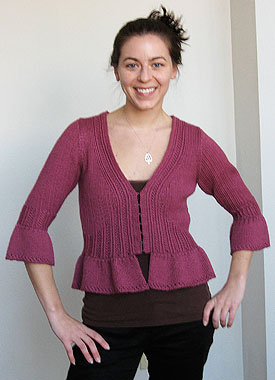 Knitting Gallery - Sylph Cardigan Annie