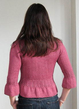Knitting Gallery - Sylph Cardigan Sarah