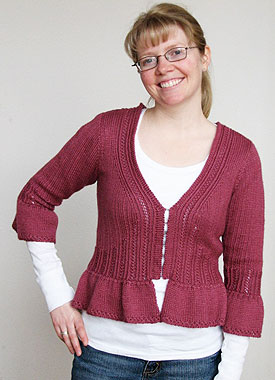 Knitting Gallery - Sylph Cardigan Toni