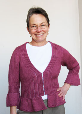 Knitting Gallery - Sylph Cardigan Trish