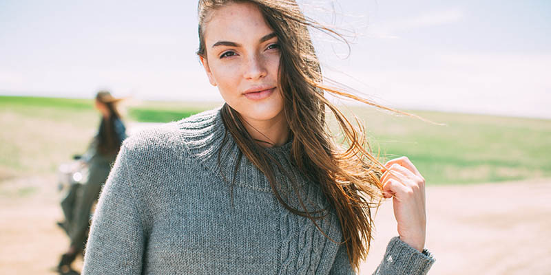 POW: Tangled Up In Gray Pullover