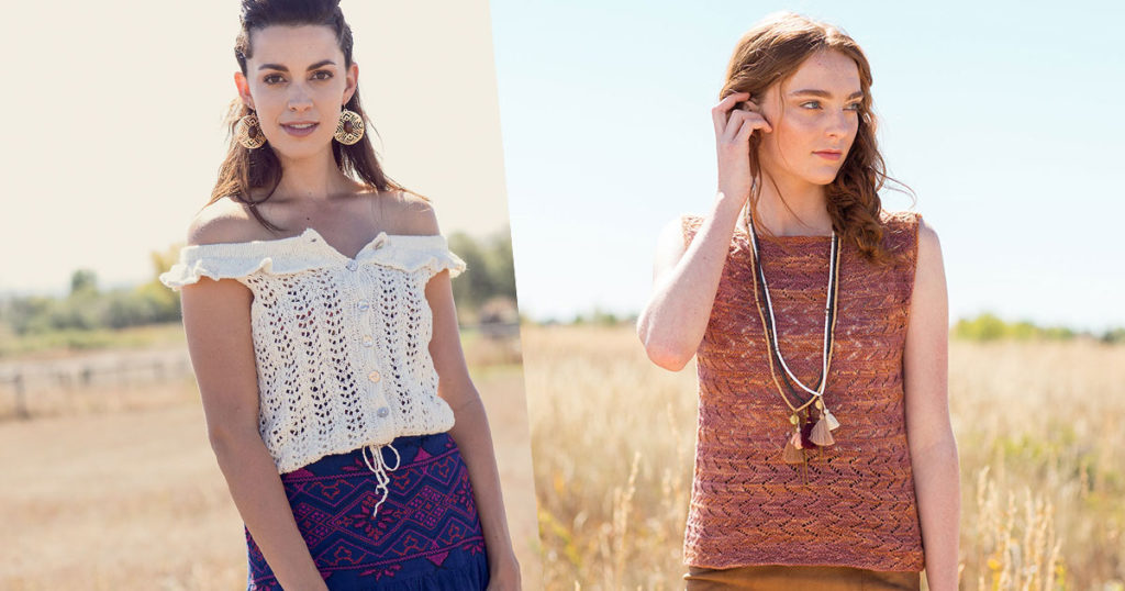 On Our Radar: 10 Best Knitted Tank Top Patterns for Summer