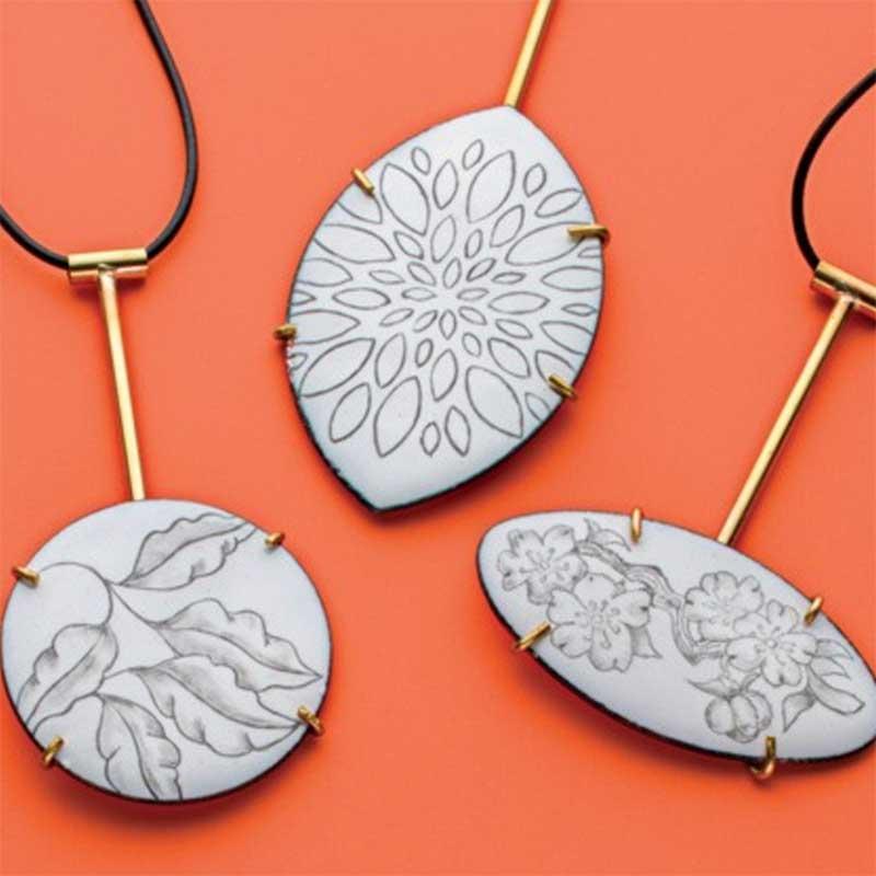 Jewelry Enameling: Merle's Top 5 Enamel Techniques