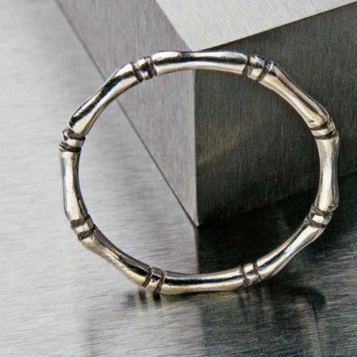 Bamboo ring by Elizabeth Ann Tokoly