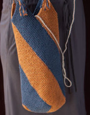 You&'ll love these free knitting bag patterns especially this knitted market bag pattern.
