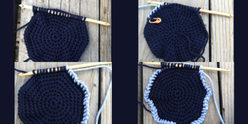Learn How to Work Tunisian Crochet in the Round
